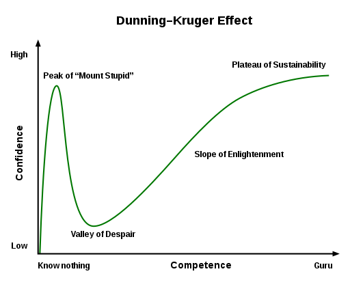 [Source](https://commons.wikimedia.org/wiki/File:Dunning%E2%80%93Kruger_Effect_01.svg): Wikipedia Commons
